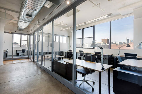 pencilworks, coworking space, greenpoint, brooklyn, entrepreneurs, business, studio, desk, office