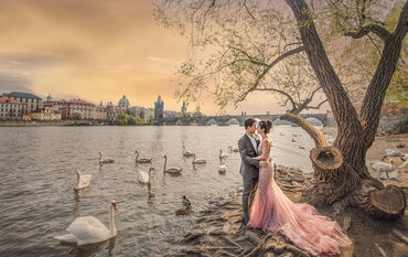 Prague Prewedding photo