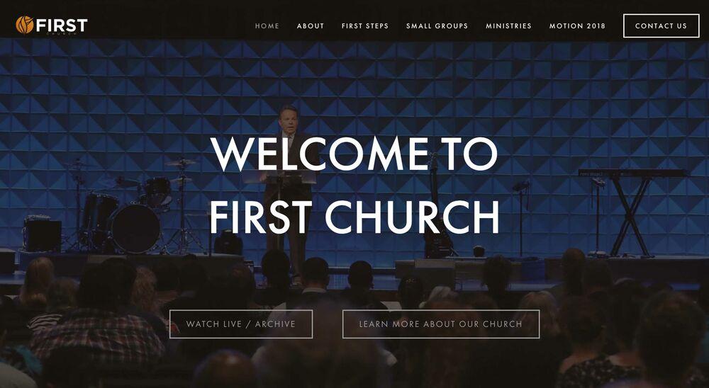 Top 10 Church Website Designs 2018 [+ Most Popular Design
