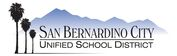 San Beranardino City Unified School District Logo
