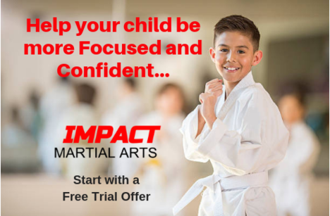 Children getmore focused and confident in their karate classes at Impact Martial Arts.