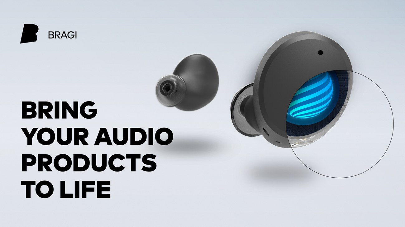 Bragi com - Software Suite for Truly Smart Audio Products