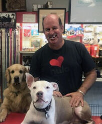Larry Horn owner of Love's Pets.