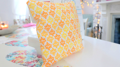 This online sewing class is perfect for total beginners or someone who has not used a sewing machine in a while. You will be shown how to thread a machine, wind a bobbin, sew straight, turn corners, when to use different stitches, and how to finish seams. You will make your very own cushion cover to take home and show off your new skills!