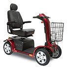Pursuit ES 4 Wheel Red