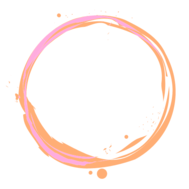 Circle orange