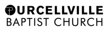 PurcellvilleBaptistChurch logo black