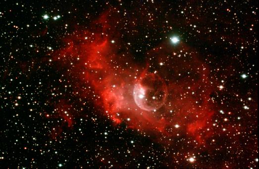 Bubble Nebula LIve Stack