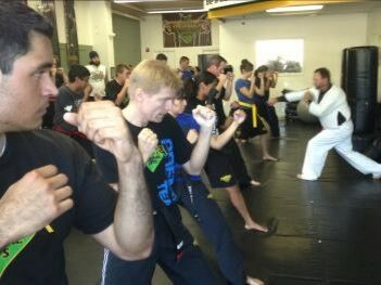 south austin martial arts with Rooster Machen