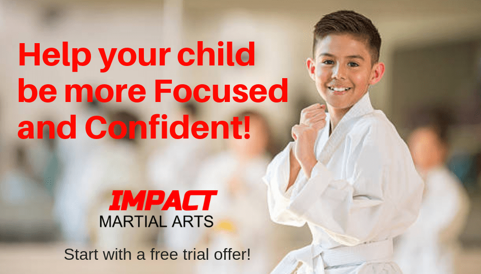 Help your child be more focused and confident at Impact Martial Arts Austin