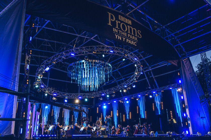 BBC Proms in the park, Swansea, Wales