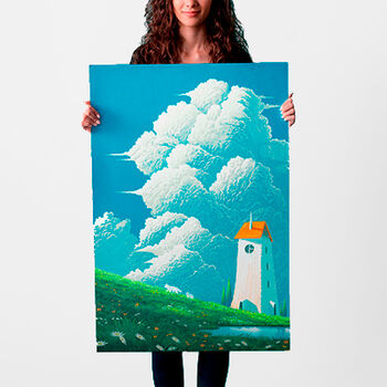 spiritsofthepond poster 61x91 24x36