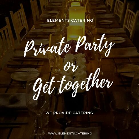 Elements Catering Promotion Dubai