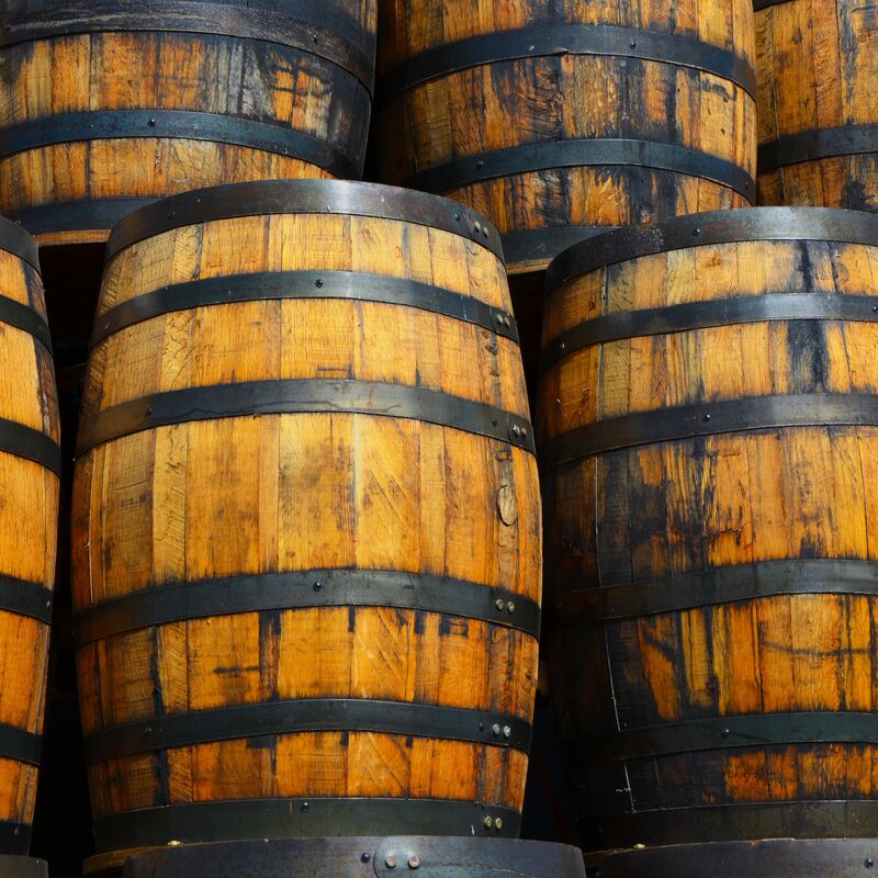 Whisky Barrels in refill-ready condition