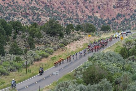 The tour of Utah bike tour with Black Sheep Adventures