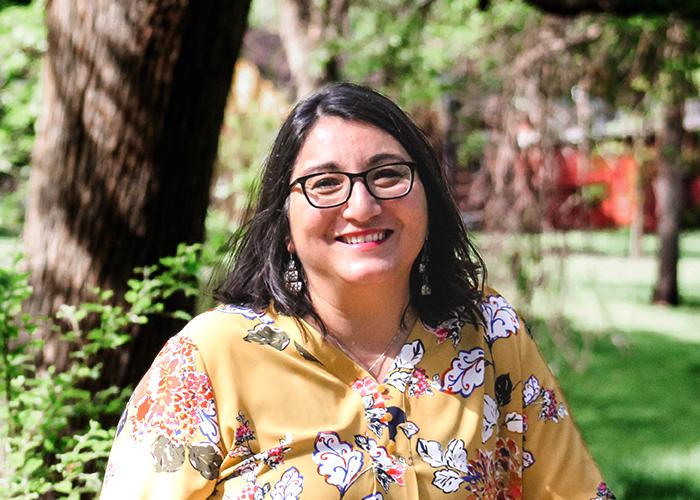 Link to bio for Diane Flores, Business Administrator