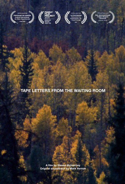 tape letters from the waiting room poster small