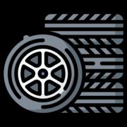 Set of tires icon