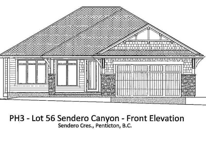 Floor Plan   Lot 56 Phase 3 Front