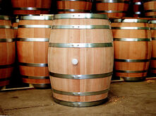 Image of New American White Oak Barrels used in our aging process