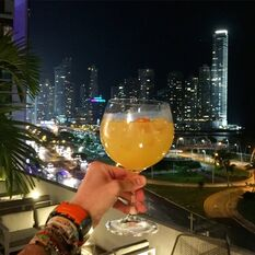 panama skyline panama city drinks cabana el brunch blog paitilla cinta costera