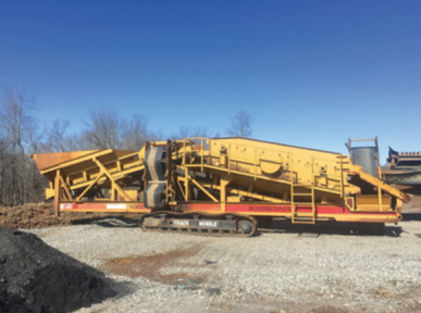 2005 CEC SCREEN IT SCREENER. SERIAL # 05406 18, 6x16 BOX, 5,008 HOURS, GREAT CONDITION, ASKING $145,000