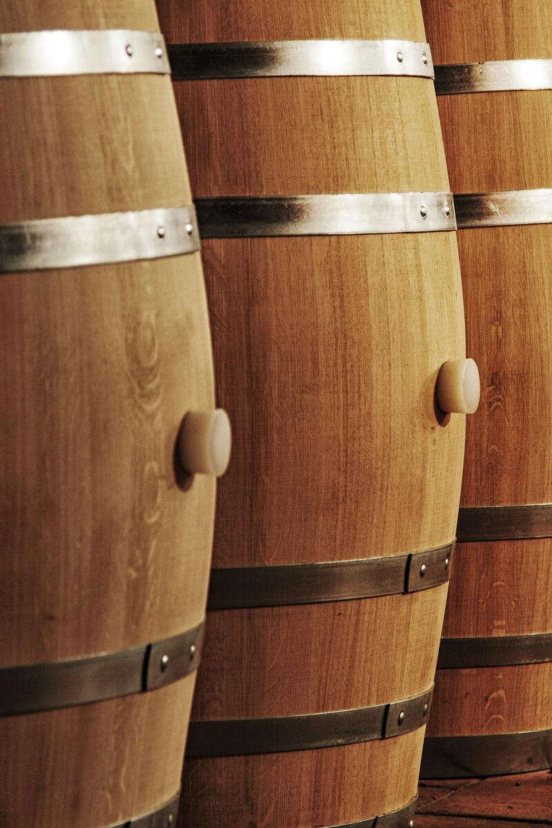 Distillate Barrels made of French Oak