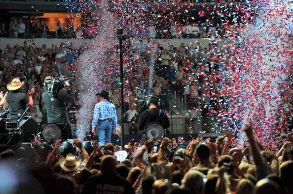 Confetti Blower George Strait Cowboy Rides Away