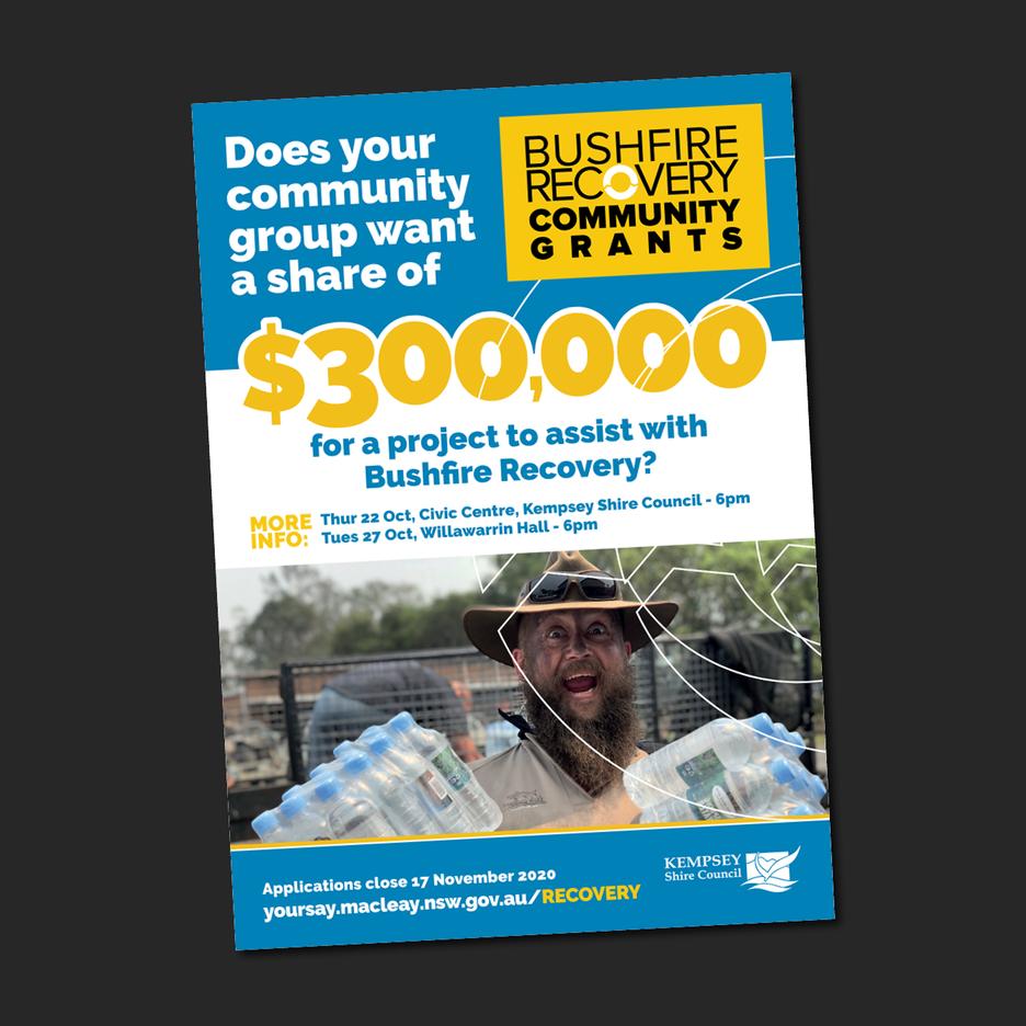 Kempsey Shire Councils - Bushfire Recovery Community Grants Promotional campaign