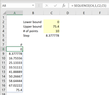 Maths in Excel - 2D polar plots with Excel 4