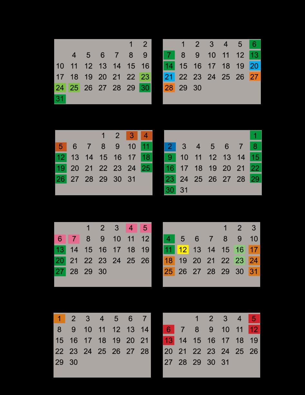 internet calendar