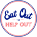 Logo Eat Out to Help Out English