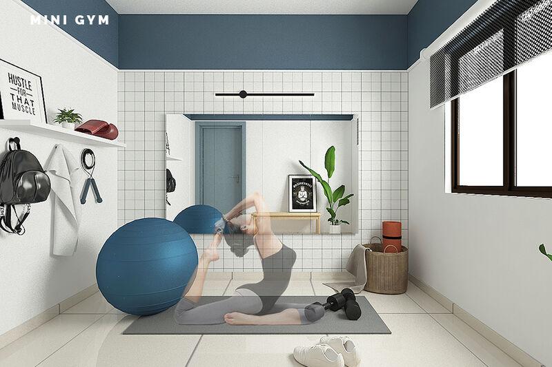 10b Mini Gym Human