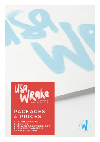 Thoughtfully Crafted Brand Identities PDF prices and packages