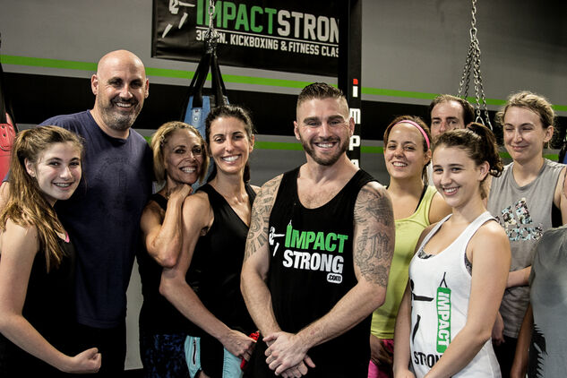 impact strong kickboxing
