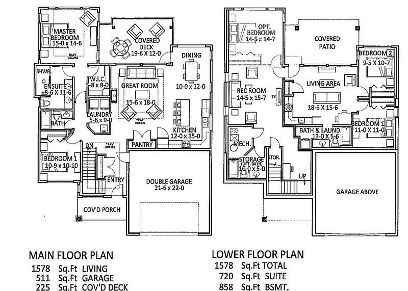 Floor Plan   Lot 56 Phase 3 Inside