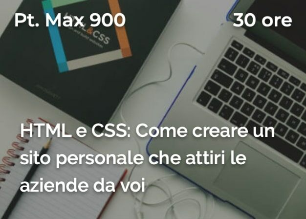 corso HTML e CSS