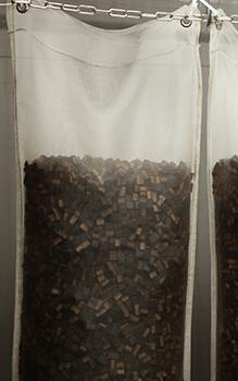 Beans im lebensmittelechten Nylonbeutel