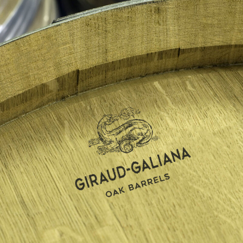 Fässer der Tonnellerie Giraud-Galiana