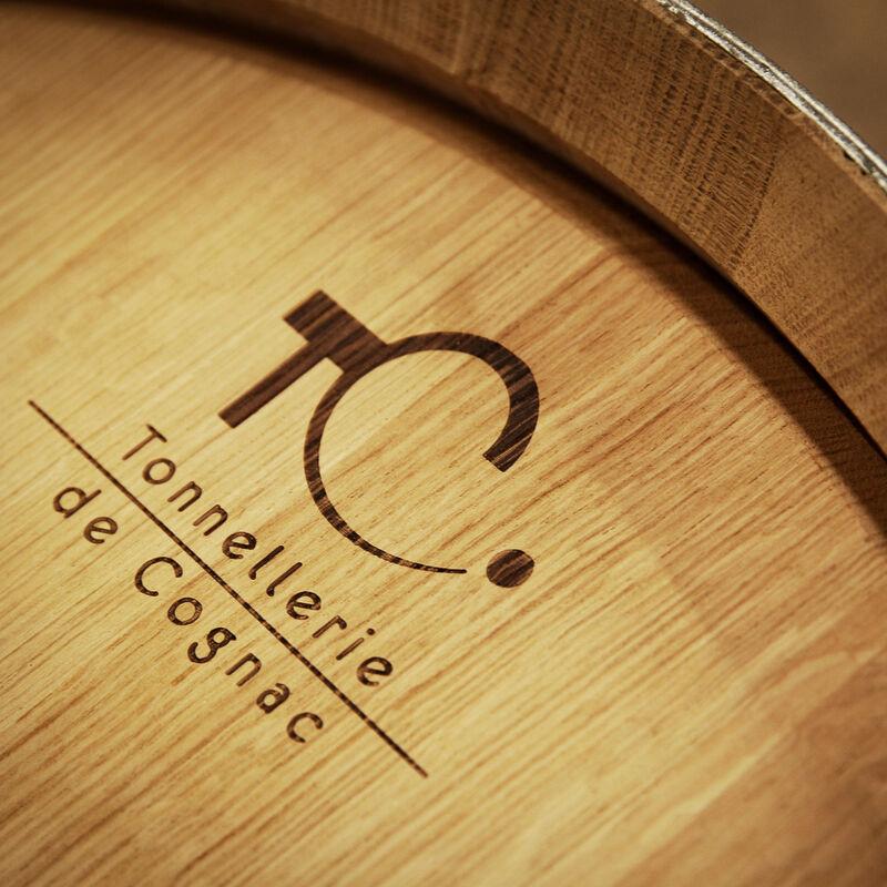 Weinfässer / Barriques / Tonneaux der Tonnellerie de Cognac