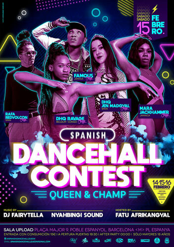 SpanishDancehallContest