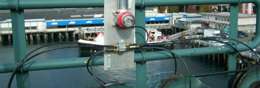 Automatic lubrication system on Washington Ferry