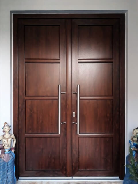 WOHNRAUM. UPVC Entrance door 04
