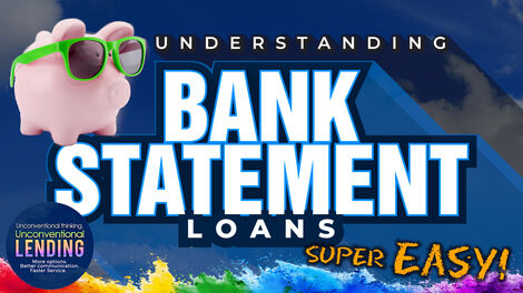 Bank Statement Loan Video Thumbnail
