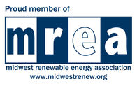 Pround member  of the Midwest Renewable Energy Association
