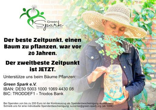 Spendenaufruf BaeumePflanzen