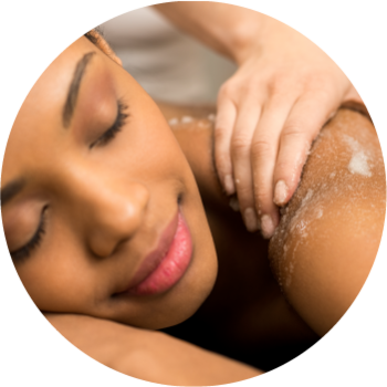 The Relax Beauty Package in Mareeba includes exfoliation,  and massage.