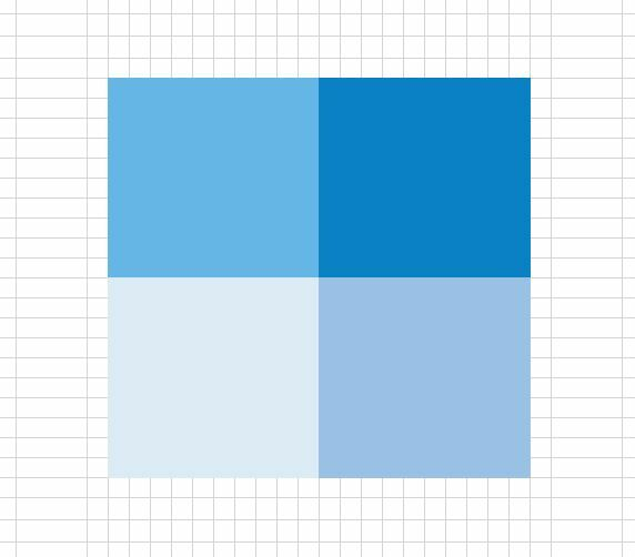 How to create a Waffle Fourfold Chart in Excel 4