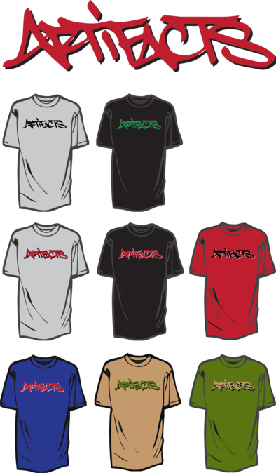 Merchandice of El Da Sensei (Artifacts) Tshirts