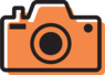 OneLook Icons print Camera nocircle